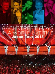 Backstreet Boys - In A World Like This Japan Tour 2013