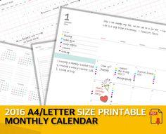 A Planner Perpetual    Perpetual Calendar Calendars
