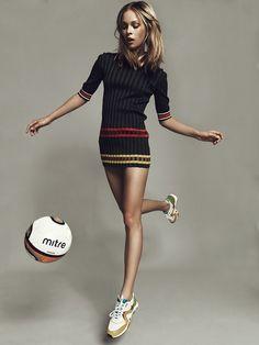 fashion, sport, woman, world game by Igo Rossenko