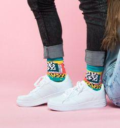 """littlealienproducts:  """"Funky Socks by zuluzionsocks  """""""