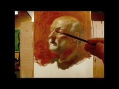 """""""Lloyd"""" 190 minutes live painting demo by Zimou Tan"""