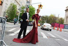 Andres and Lauren Santo Domingo / Met Gala 2014 / Vogue