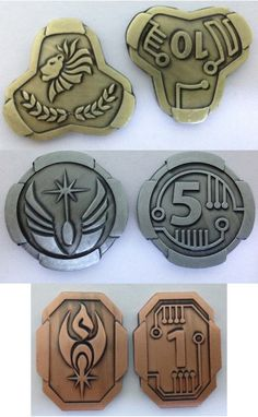 #credits fantasy coins for tabletop rpg , larp