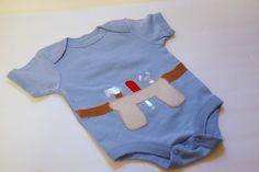 tool belt onesie - this is not a tutorial, but I couldn't find one so I pinned the picture so I can remember what it looks like and try it freehand
