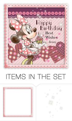 """""""birthday Mini"""" by smile2528 ❤ liked on Polyvore featuring art"""