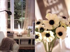 Vaaleanpunainen hirsitalo Van, Candles, Table Decorations, Interior, Inspiration, Furniture, Design, Home Decor, Love