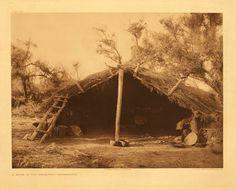 Traditional Chemehuevi home - 1924