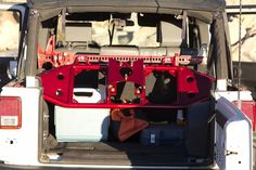 Excessive Industries Gate Keeper In Cab Tire Carrier - Powder Coated Red. $550