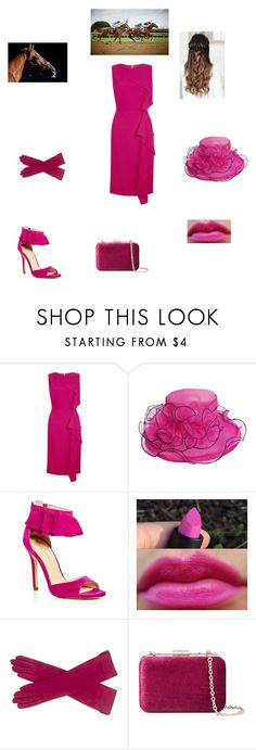 """""""A Day At The Kentucky Derby"""" by caple-j ❤ liked on Polyvore featuring Hobbs, Ivanka Trump and Who What Wear"""