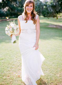 Tendance Robe du mariage Detailed draping: www. Cute Wedding Dress, Colored Wedding Dresses, Satin Wedding Shoes, Wedding Gowns, Mod Wedding, Elegant Wedding, Wedding Bells, Wedding Ideas, Best Bridal Shoes