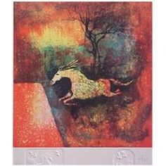 LeBaDang (aka Hoi) (1922-2002) Vietnamese/ French, HORSE, #1, embossed color lithograph, signed...