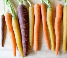 Simple and colorful carrot slaw!