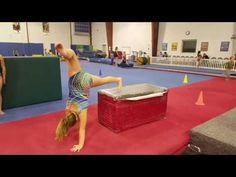 Basic Beam Handstand Circuit - YouTube