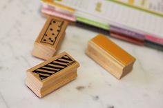 washi tape stamp by ashleyTIA, via Flickr