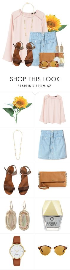 """""""Starting a new tag list so please RTD"""" by flroasburn ❤ liked on Polyvore featuring MANGO, Tory Burch, Gap, Emporio Armani, Kendra Scott, Kate Spade and Ray-Ban"""
