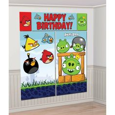 Angry Birds Party Scene Setter
