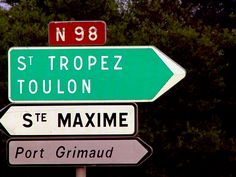 Trying to find our way to the Nikki Beach in St. Tropez