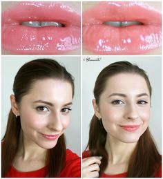 Milani Sweet Grapefruit, Coral Crush Brilliant Shine Lip Gloss Review, Swatches, Pictures | via @glamorable #makeup #bbloggers #lipgloss #milani #drugstore #drugstoremakeup #cheapmakeup #cosmetics #coral #pink #spring2014 #orange