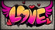 Graffiti Tattoo, Banksy Graffiti, Wie Zeichnet Man Graffiti, Easy Graffiti Drawings, Graffiti Words, Graffiti Wall Art, Graffiti Painting, Graffiti Lettering, Street Art Graffiti