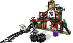 LEGO 6857-1: The Dynamic Duo Funhouse Escape - Have.  It hasn't been opened, but I think it's a very cool set.  Waiting until J's a little older.