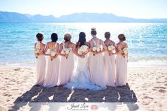 South Lake Tahoe Wedding.  Photo by www.janetlovephotography.com #photography #bridesmaids #weddings