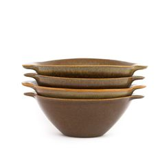 Amazing designs from the New Zealand. Brown Riverstone series designed by the late Jack Laird of Nelson, launched in Designed and. Hot Soup, Pottery Bowls, Muesli, Product Launch, Canterbury, Tableware, Handsome, Brown, Amazing