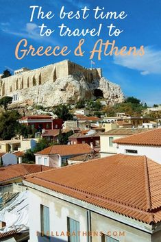Whether you like sandy beaches or iconic monuments or simply the relaxed Greek vides in the mountains or in the cities this the absolute guide to finding out what's the best time for you to visit Greece and Athens