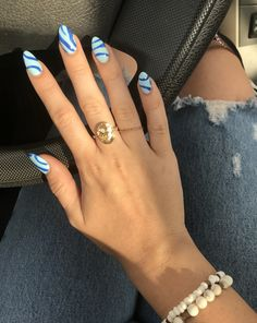 Edgy Nails, Funky Nails, Stylish Nails, Swag Nails, Funky Nail Art, Rounded Acrylic Nails, Simple Acrylic Nails, Best Acrylic Nails, Rounded Nails