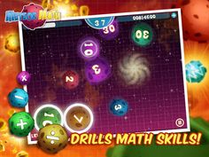 Meteor Math - Drill & practice addition, subtraction, multiplication and division skills.