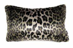最高級の手触りSAHCOヒョウ柄ドイツ生地スモールクッションカバー #クッション #クッションカバー #アニマル #safari #ヒョウ柄 #leopard #cushion #cushioncover #pillow