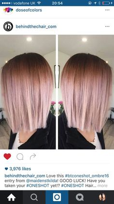 One of the hottest hair coloring trends! Get awesome inspiration by this gallery!