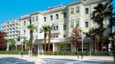 Grand Hôtel Terme Trieste & Victoria à Abano Terme Soins belle époque, fangothérapie, wellness Réservez sur SpaDreams.fr  http://www.spadreams.fr/pas-cher/italie/monts-euganeens/abano-terme/grand-hotel-terme-trieste-victoria/