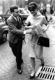 Audrey in Rome. Always so well put together. Did she ever wear sweats?