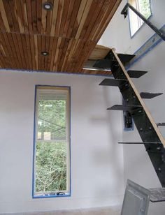 Lieux and atelier on pinterest for Escalier a pas japonais