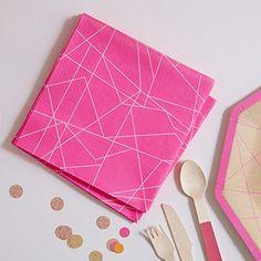 Ginger Ray Neon Pink Geometric Papier Partei Servietten X... https://www.amazon.de/dp/B01B80XWWI/ref=cm_sw_r_pi_dp_0EkJxb3CRX7KM