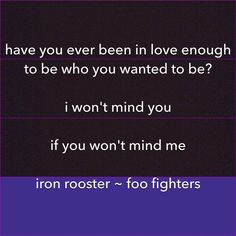 Iron Rooster ~ Foo Fighters