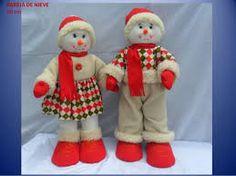 Resultado de imagen de muñecos navideños