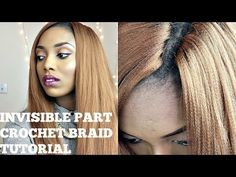 How To: Knotless Crochet Braids with Straight Hair | Un-ruly