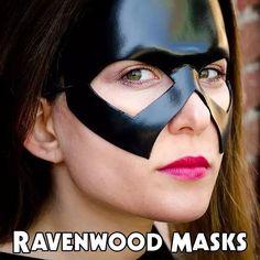 Steel leather mask  #halloweencostume #halloween #shopsmall #shophandmade #etsysellers #RavenwoodMasks #leathermask #Con #cosplay #Conlife