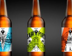"""Check out new work on my @Behance portfolio: """"Polish handlettered craft beer labels"""" http://be.net/gallery/43457383/Polish-handlettered-craft-beer-labels"""