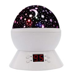 Star Sky Night Lamp,ANTEQI Baby Lights 360 Degree Romantic Room Rotating Cosmos Star Projector With LED Timer Auto-Shut Off,USB Cable Plug For Kid Bedroom,Christmas Gift (White) >>> You can find more details by visiting the image link-affiliate link. Star Night Light, Stars At Night, Star Sky, Stars And Moon, Sky Night, Night Lights, 1 Year Old Christmas Gifts, Night Light Projector, Projector Lamp