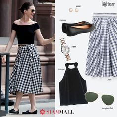 #GetTheLook Copy the look of the beautiful Anne Hathaway and start the year in a unique way  #TenerifeShopping