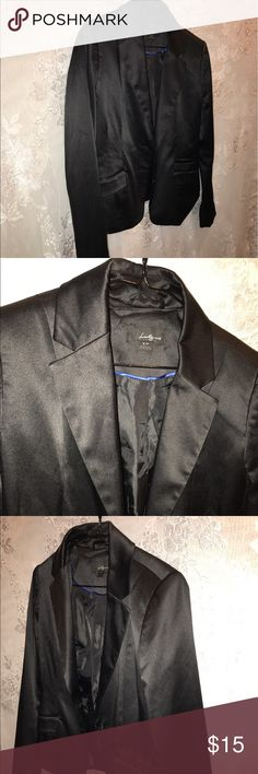 Size small twenty one black jacket In gently used condition blazer/jacket no rips no stains in like new condition twenty one Jackets & Coats Blazers