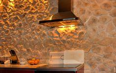 Stein Optik Küche Mamposteria