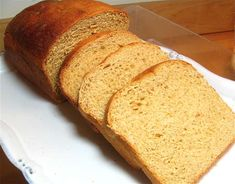 The perfect 100% whole wheat sandwich bread from King Arthur Flour.  Uses mashed potato flakes to make it softer and less dense.  Knead in the bread machine but bake in the oven.