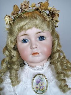 Kammer Reinhardt K*R Mein Liebling 117 21' Antique German Doll
