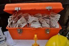 keep utensils in tool boxes