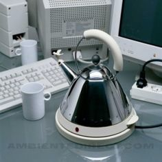 Electric Kettle MG32 | Alessi | Accessories | AmbienteDirect.com