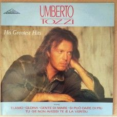 His Greatest Hits by Umberto Tozzi from Silva International/CGD (TOZZ 001)