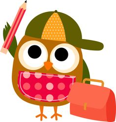 Best Owl Reading Clipart #21049 - Clipartion.com